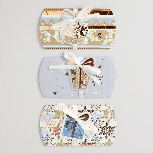Noel Gift Pouches, Set of 3