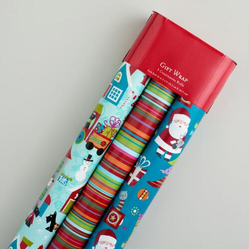 Scotty and Friends Gift Wrap, 3-Pack