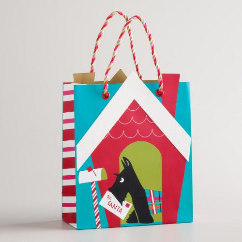 Small Doghouse and Scotty Gift Bag