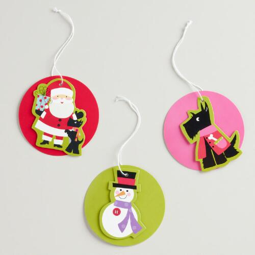 Scotty Gift Tags, Set of 3