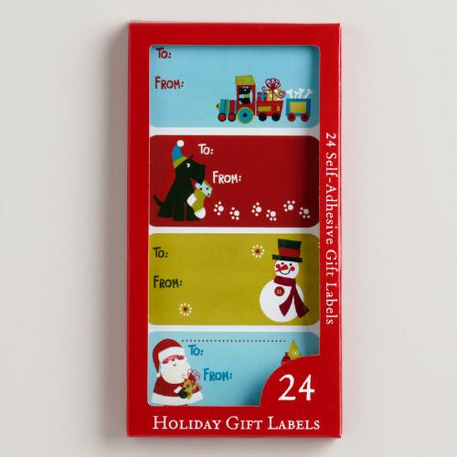 Scotty Gift Labels, Set of 3