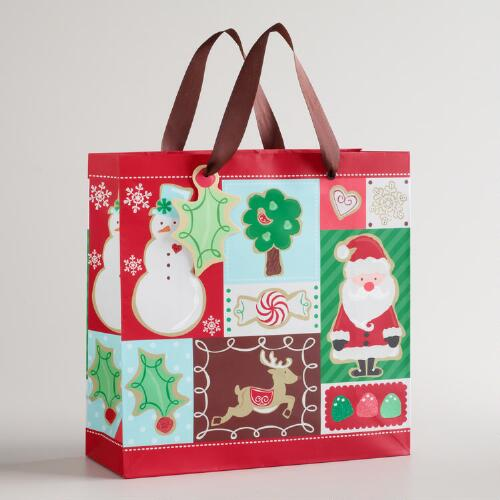 Medium Patchwork Sugar and Spice Gift Bag