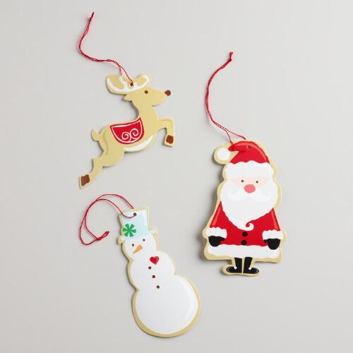 Sugar and Spice Gift Tags, Set of 3