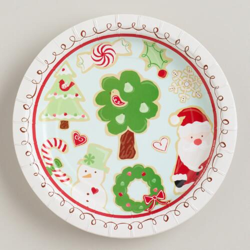 Sugar and Spice Plates, Set of 8
