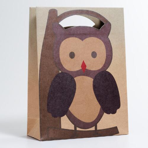 Woodland Owl Gift Bag