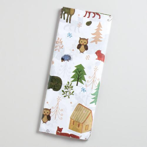 Woodland Animals Tissue