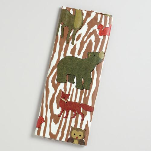 Bark Woodland Animals Tissue