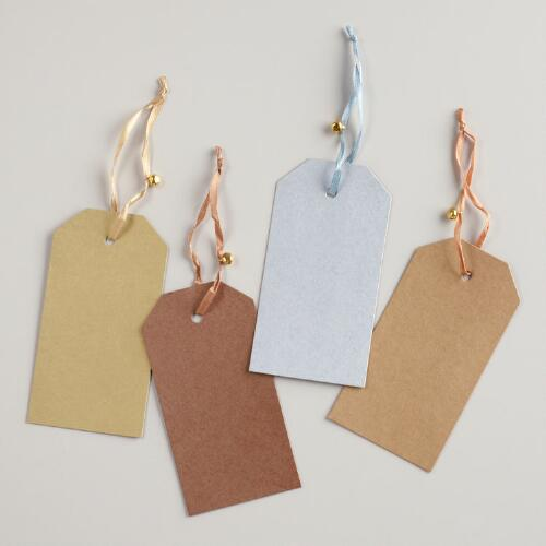 Woodland Kraft Gift Tags, Set of 6