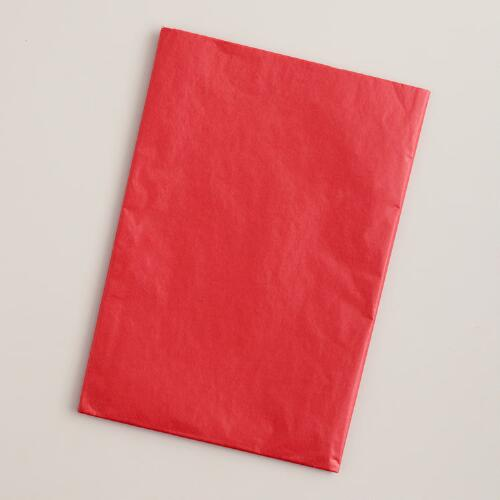 Red Tissue, 20-Pack