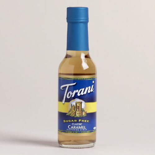Mini Torani Sugar Free Caramel Syrup, Set of 12