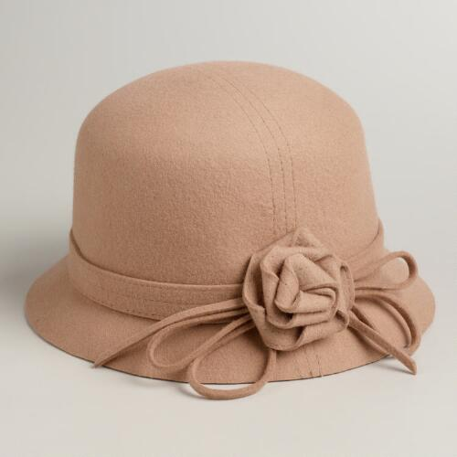 Camel Flower Cloche