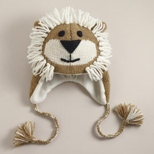 Wool Lion Hat