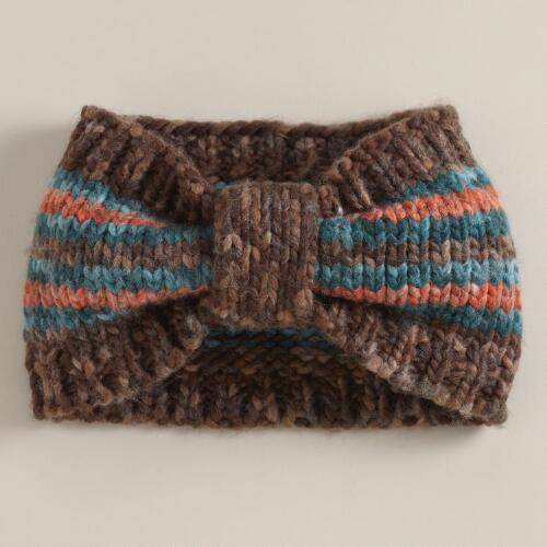 Blue and Orange Head Warmer