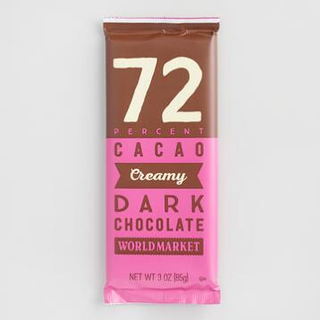 World Market® 72% Dark Chocolate Bar, Set of 2