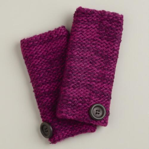 Purple Marbled Arm Warmers