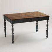 Black Camille Dining Table