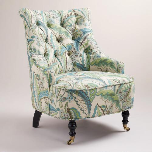 Fern Floral Erin Chair