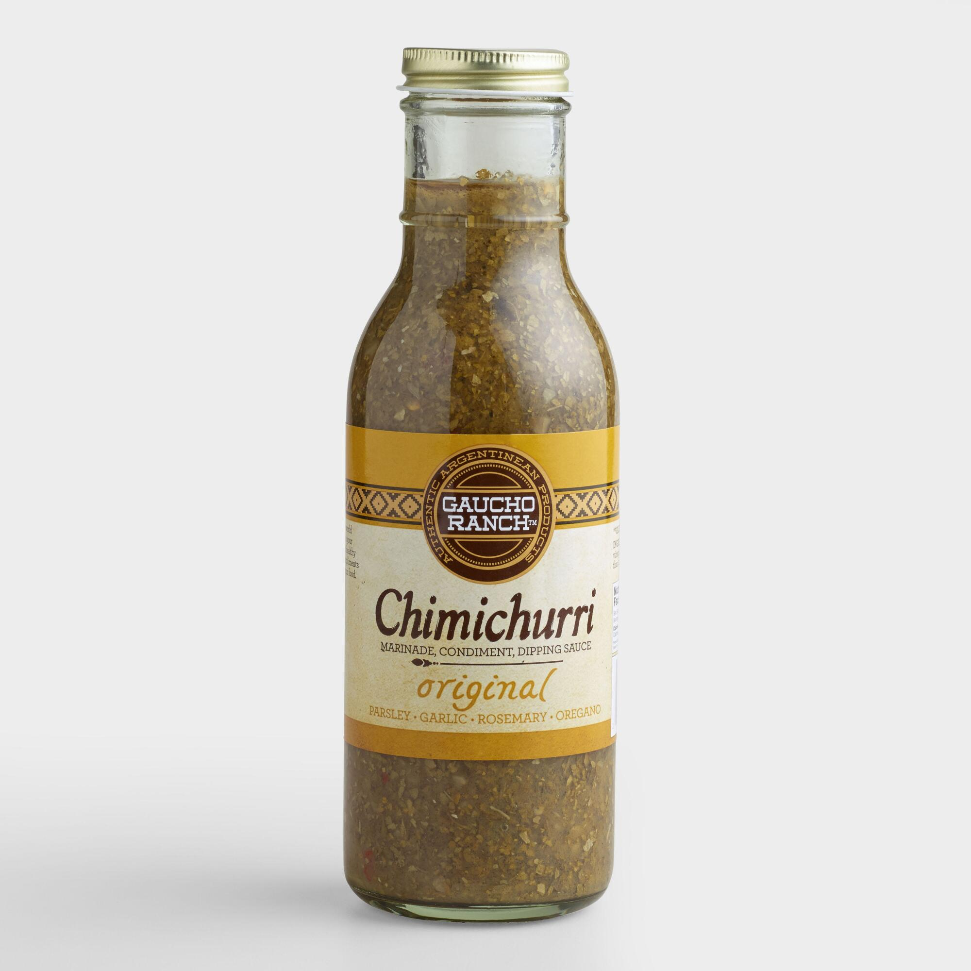 Gaucho Ranch Original Chimichurri Sauce, Set of 6 | World Market