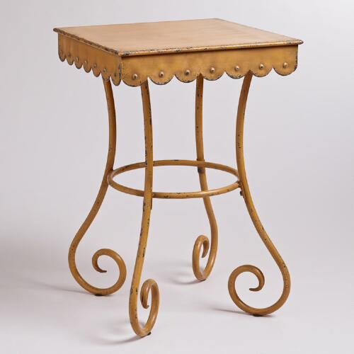 Square Olivia Accent Table