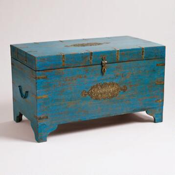 Blue Medallion Trunk
