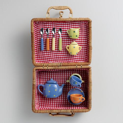 Large Kids Picnic Basket