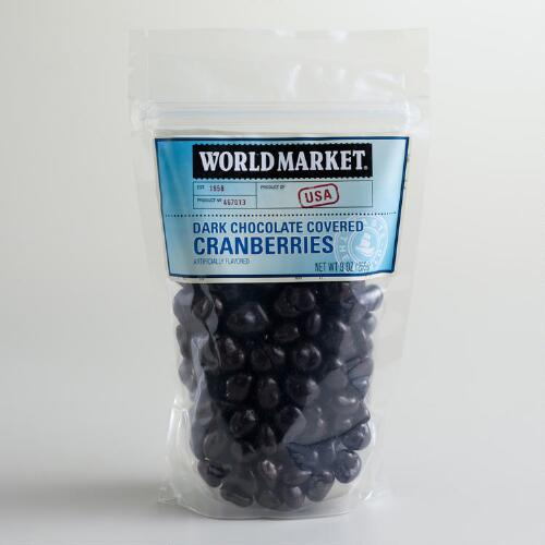 World Market® Dark Chocolate Cranberries