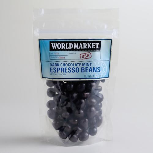 World Market® Mint Dark Chocolate Espresso Beans