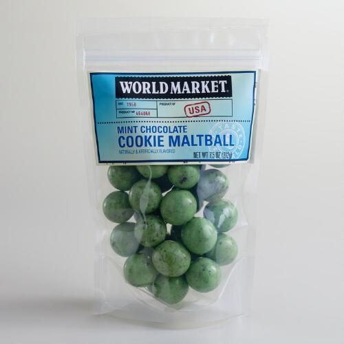 World Market® Mint Chocolate Cookie Maltballs