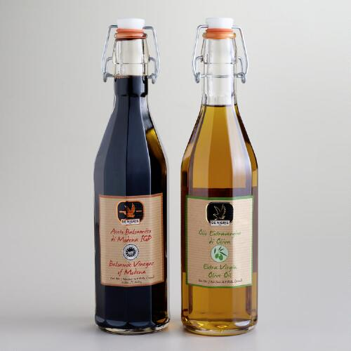 Balsamic Vinegar and Extra Virgin Olive Oil, 2 Pack