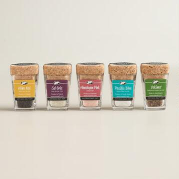 Signature Salt Sampler, 5 Pack