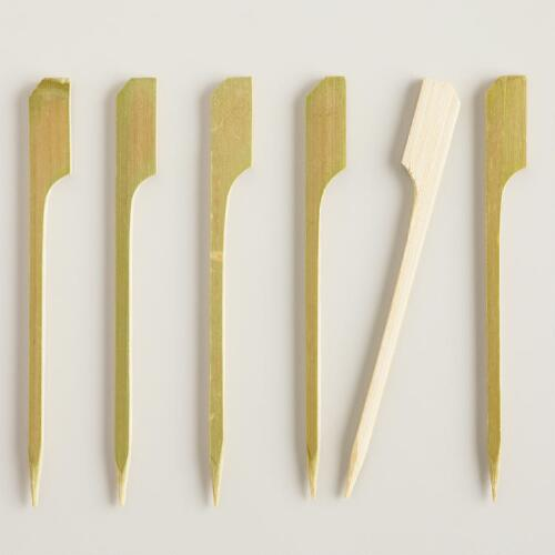 Bamboo Picks, 50-Pack
