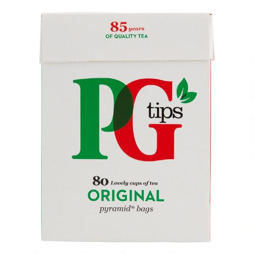 PG tips Black Tea, 80 Count