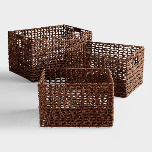 Seagrass Storage Baskets