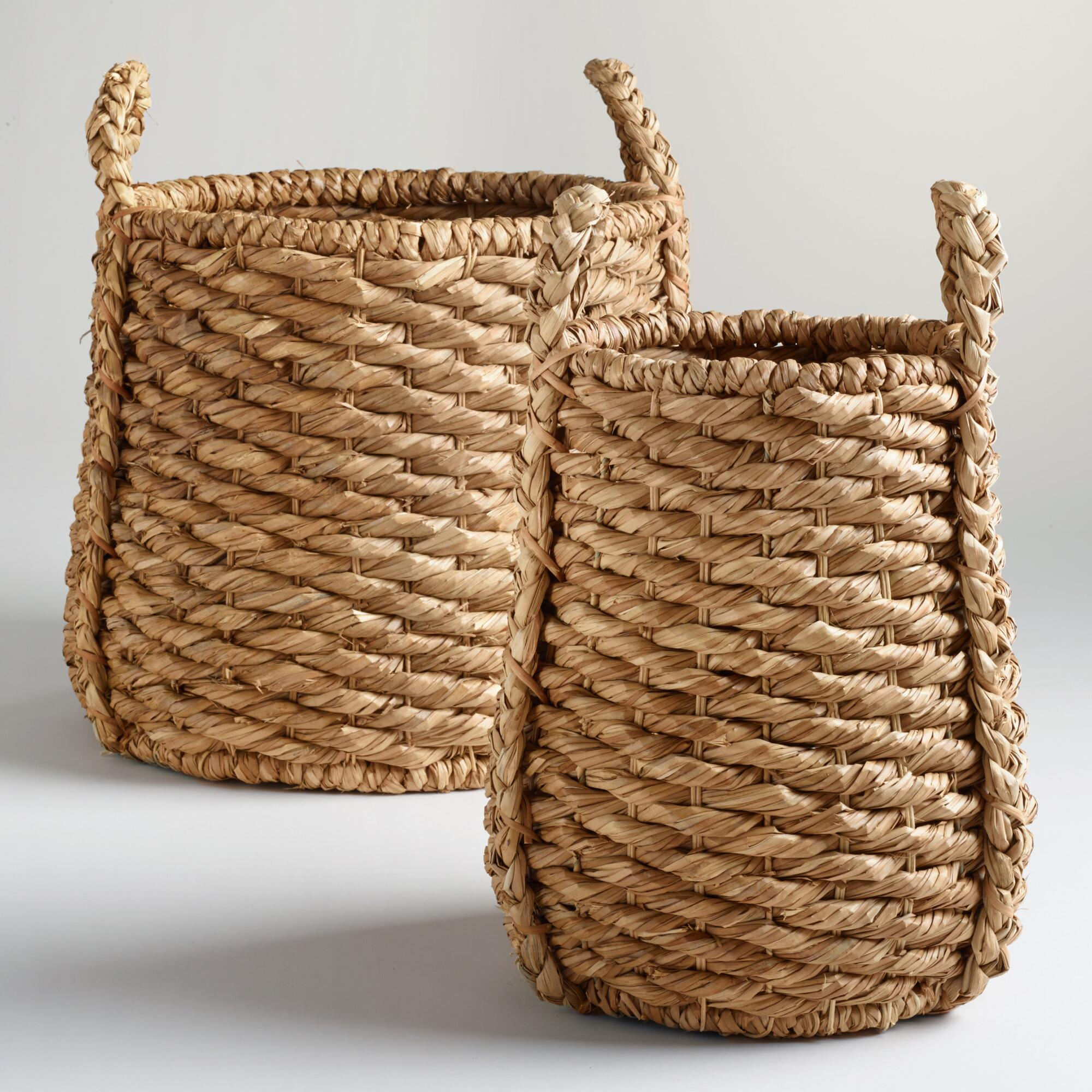 Cost Plus World Market Fall 2016 Collection: Oversized Natural Carrie Tub Basket Collection