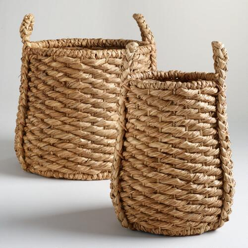 Oversized Natural Carrie Tub Basket Collection