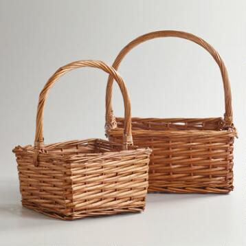 Honey Square Isabella Baskets
