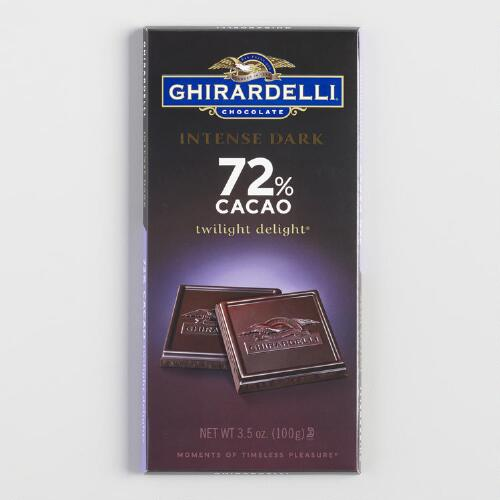 Ghirardelli Intense Dark 72% Cacao Twilight Delight Bar