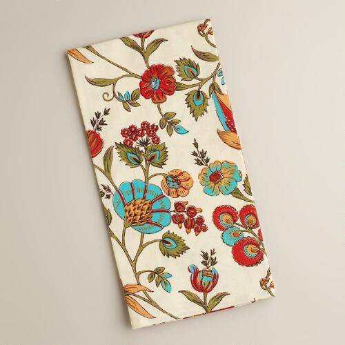 Floral Print Lodi Kitchen Towel