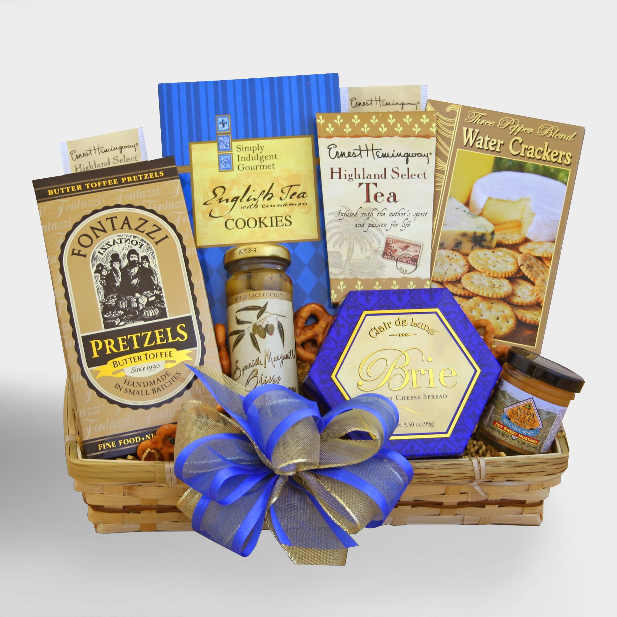 Thank You For Your Business Basket: Thank You Snacker Gift Basket