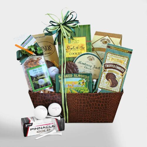 Hole-in-One Gift Basket