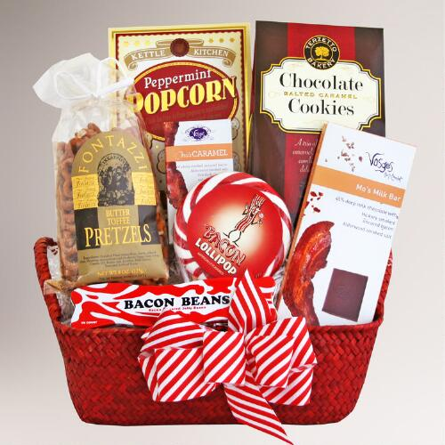 Awaken to Bacon Gift Basket