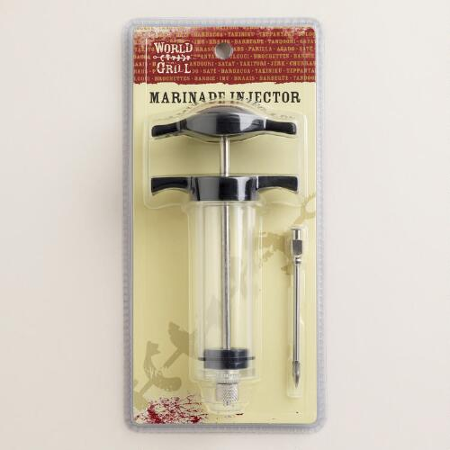 Barbeque Basting and Flavoring Injector