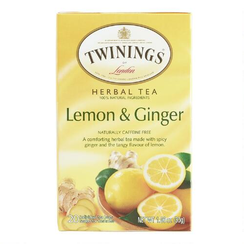 Twinings Lemon Ginger Tea, Set of 6