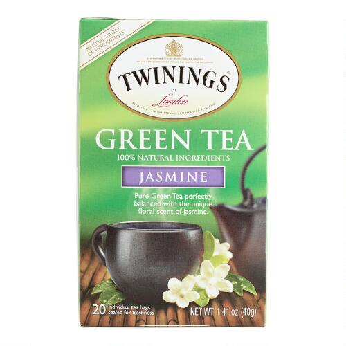 Twinings Green Jasmine Tea, 20-Count