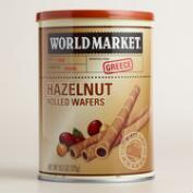 World Market ® Hazelnut Rolled Wafers