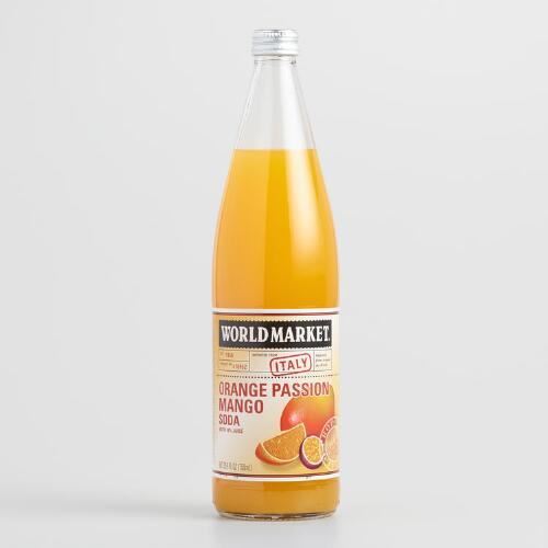 World Market® Orange Mango Passion Fruit Italian Soda