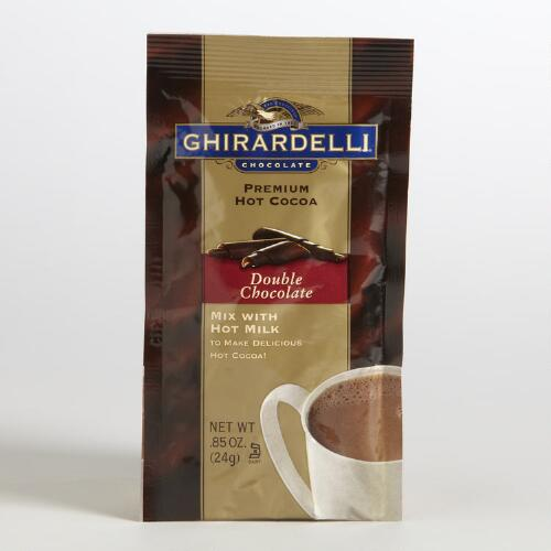 Ghirardelli Double Chocolate Hot Cocoa Packet