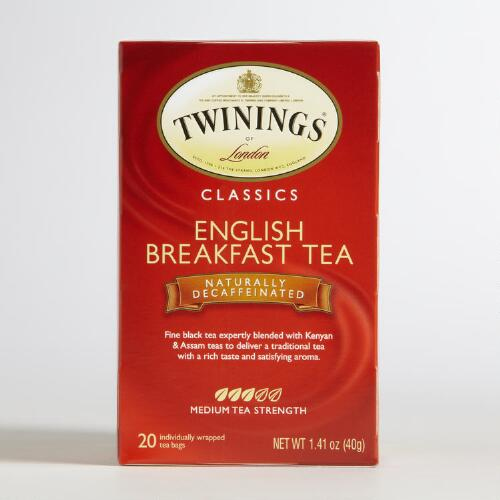 Twinings Decaf English Breakfast Tea
