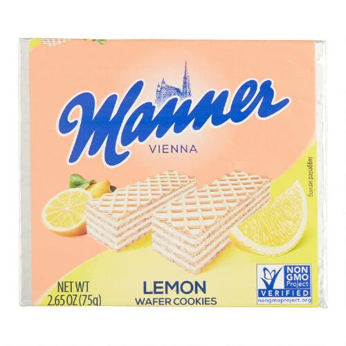 Manner Lemon Wafers