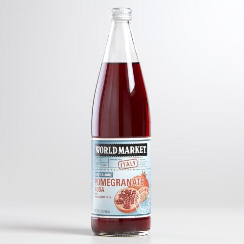 World Market® Low Calorie Pomegranate Soda